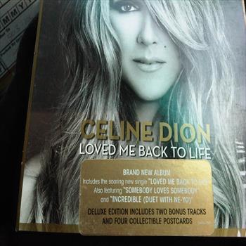celine dion loved me back to life deluxe version