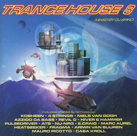 Other music cds trance house 8 various artists cd in for House music tracklist