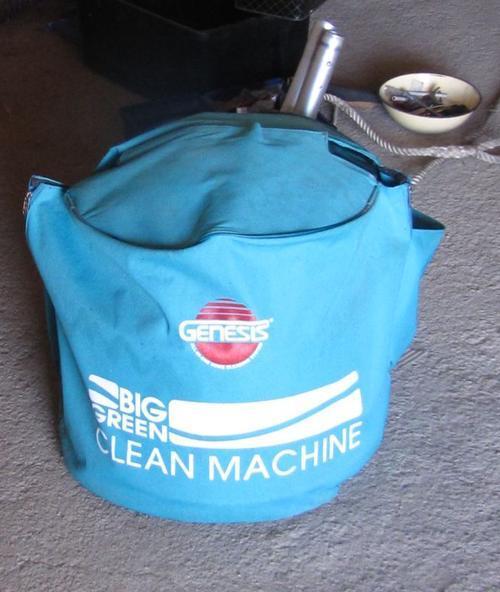 genesis big green clean machine user manual