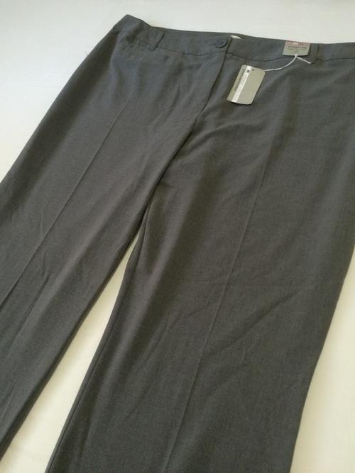 Pants U0026 Leggings - SIZE 22 - WOOLWORTHS - GREY FORMAL LADIES STRAIGHT LEG PANTS F- NEW WITH TAGS ...