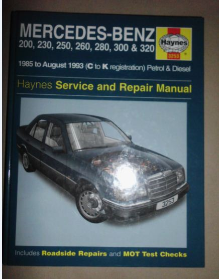 Service manual automobile fuse manual for a 1993 mercedes for Mercedes benz r129 service repair workshop manual