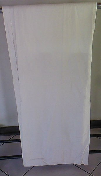 Curtains - Beige / cream vintage linen curtains X 2 was sold for ...