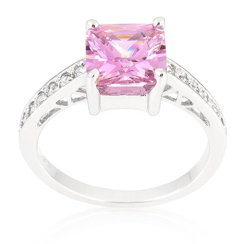 engagement rings princess pink ring engagement breast