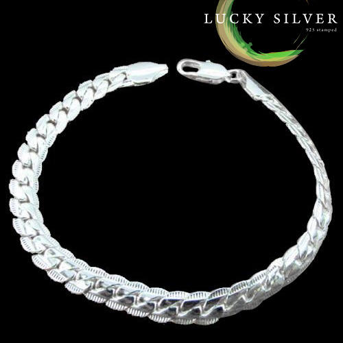 .925 Sterling Silver EP bracelet links of london