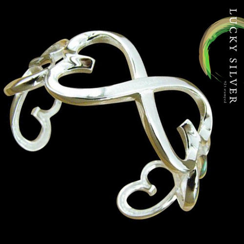 .925 Sterling Silver EP bracelet