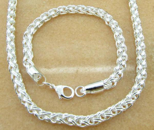 lucky 925 sterling silver Necklace