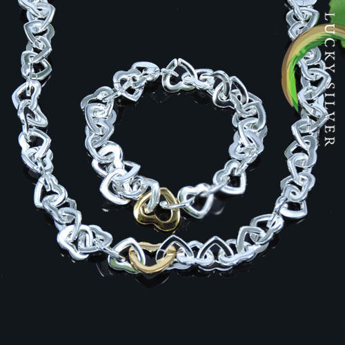 .925 sterling silver jewellery set