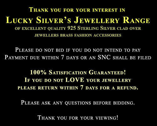 lucky 925 Sterling Silver EP Bracelet