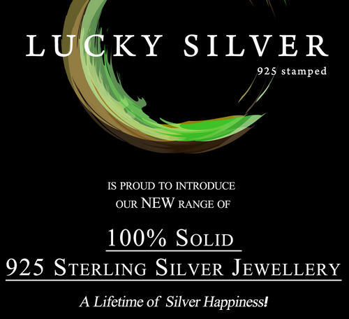 solid 10x 925 Sterling Silver jewellery