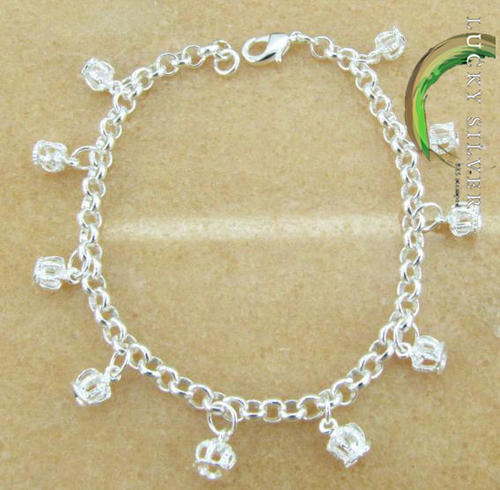 lucky 925 Sterling Silver EP Bracelet Links of London