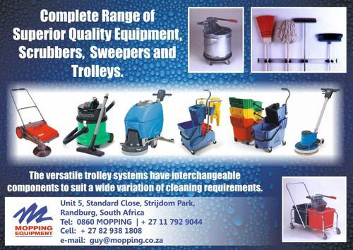 Numatic &amp; other cleaning equipment