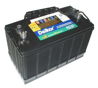Rechargeable Batteries Delkor Dc31 Deep Cycle Battery