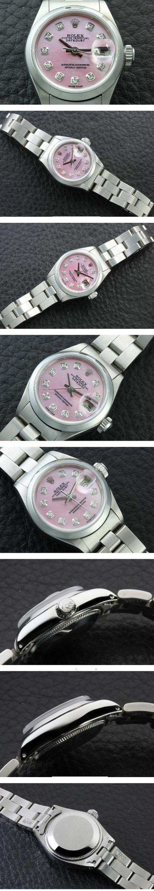 buy ladies diamond pink pearl rolex watches watch online eswift.us