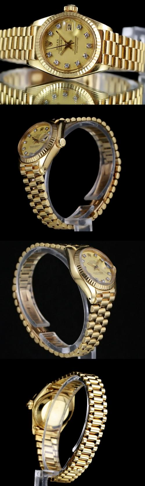 18ct gold rolex christmas gift sale