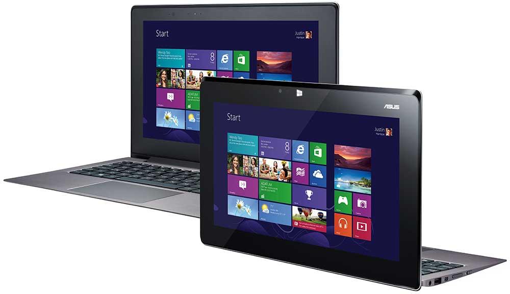 ASUS Taichi 21 DH71 Convertible Touchscreen Ultrabook