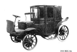 old electric car