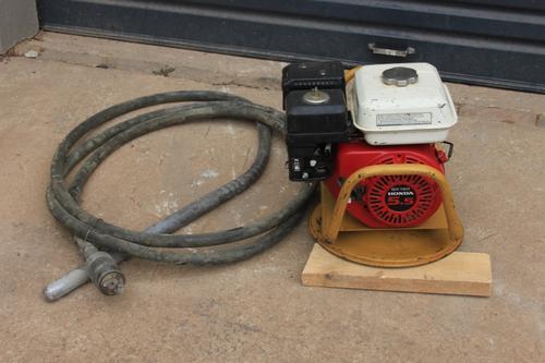 concrete vibrator equipment