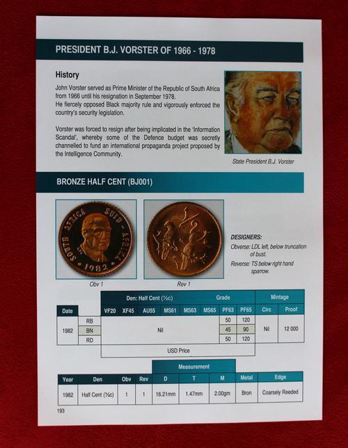 Vorster coinage