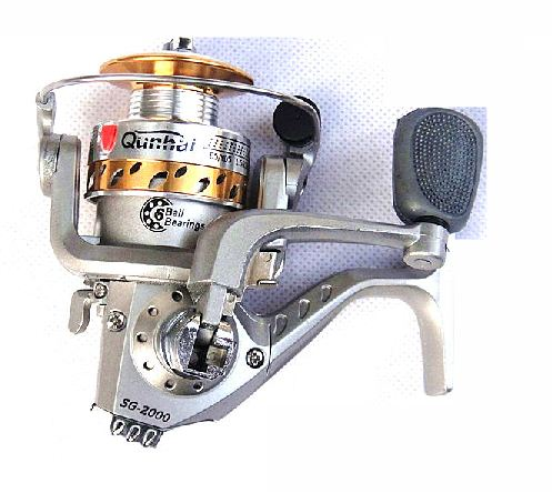 Fishing Rods  Reels on Reels   Aluminum Spinning Reel For Fishing Rods   Excellent Line Lay