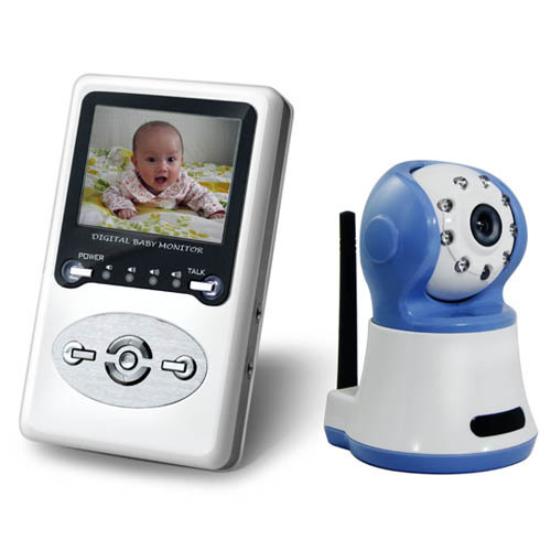 monitors new digital colour wireless handheld baby monitor wireless receiver kit was sold for. Black Bedroom Furniture Sets. Home Design Ideas