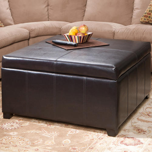 Ottomans Footstools Leatherette Convertible Coffee Table Ottoman Was Sold For On 9