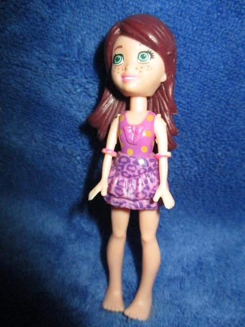 Barbie - Polly Pocket Doll no5 - Mattel +-9cm was sold for ...