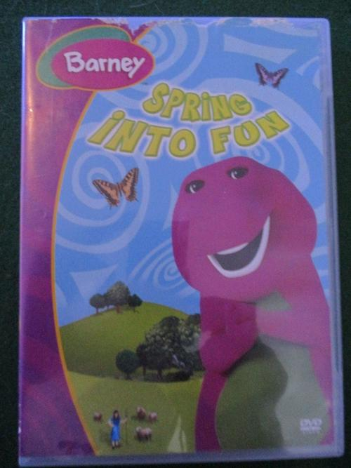 Movies Dvd Barney Spring Into Fun Was Sold For R30