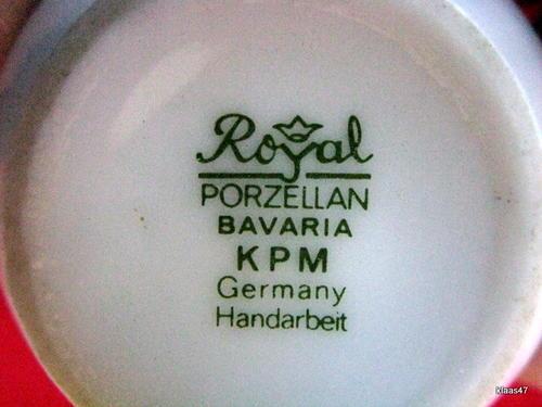 german porcelain royal porzellan bavaria k p m. Black Bedroom Furniture Sets. Home Design Ideas