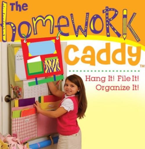 DIY Homework Caddy   East Coast Creative Blog Alejandra tv Homework Caddy