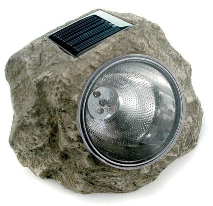 Other Garden Decor Garden Rock Solar Lightgarden Rock Solar Light Was Sold For On 9