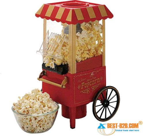 other small appliances stunning old fashion wagon popcorn machine what a great gift was. Black Bedroom Furniture Sets. Home Design Ideas