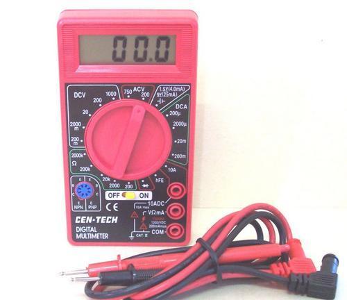 Cen Tech Digital Multimeter : Other electronics digital multimeter new was sold for