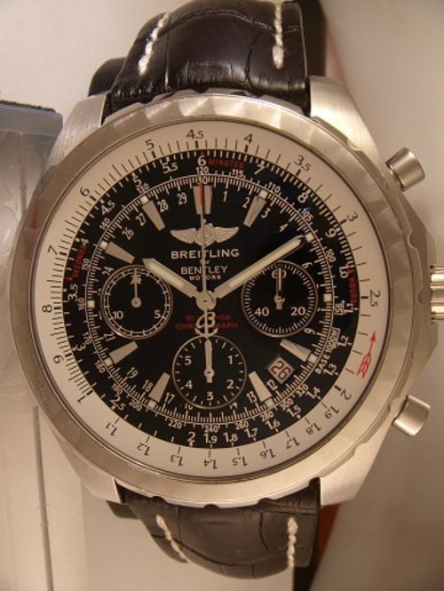 Men 39 s watches breitling bentley motors t demo model 1 2 for Breitling for bentley motors watch price