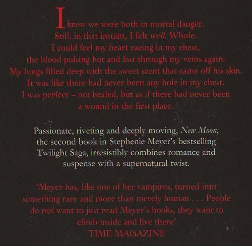 the twilight saga new moon book review