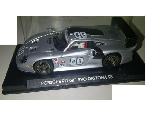 cars scalextric fly porsche 911 gt1 evo le mans daytona 2000 test car used. Black Bedroom Furniture Sets. Home Design Ideas