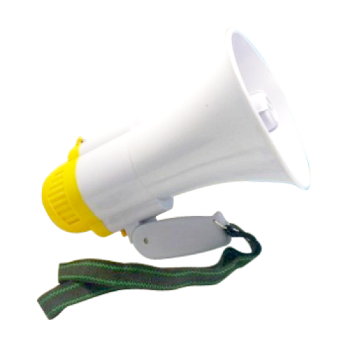 Other Portable Audio Amp Visual Megaphone With Siren And