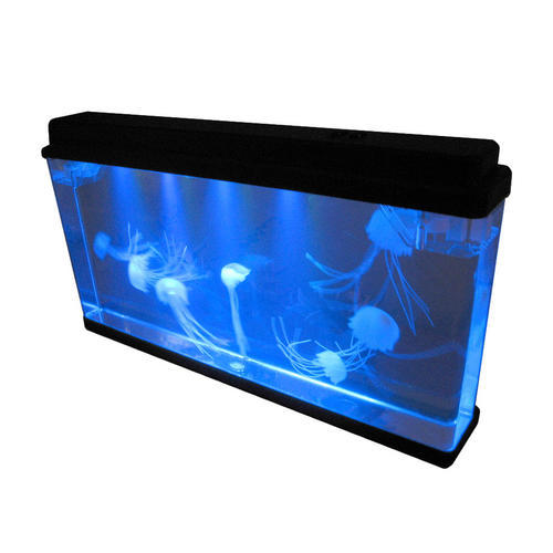 Other home decor led electronic jellyfish mood aquarium for Fake fish tank with moving fish