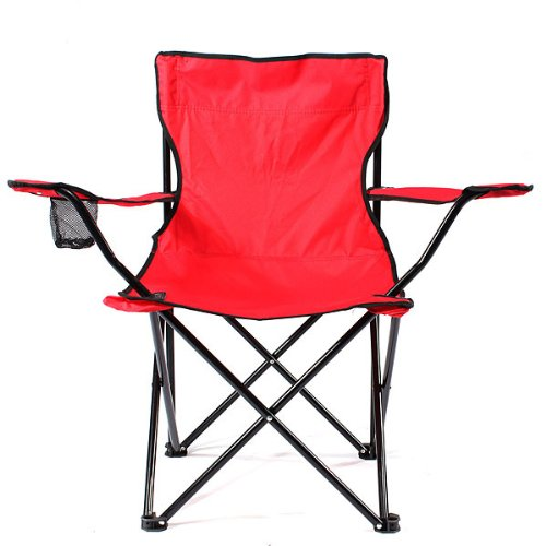 Rods Outdoor Folding Fishing Chair w Carry bag and Cup Holder was sold for