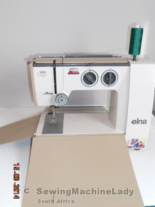 elna lotus machine