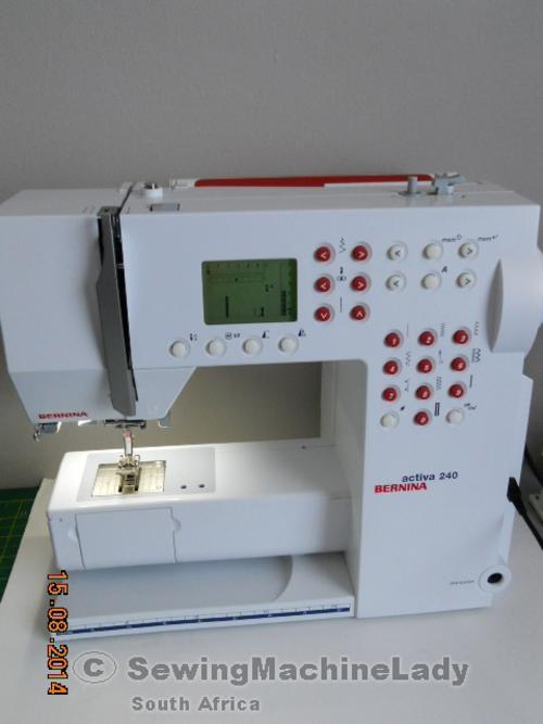 bernina activa 130 sewing machine manual