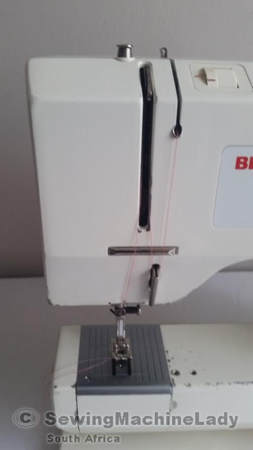 sewing machine description