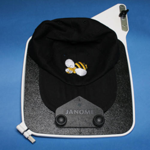 Hoops cap hat hoop insert for janome elna deco for Janome memory craft 350e manual