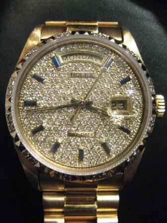 Nice gold watch