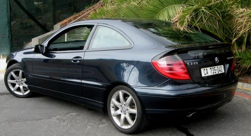 Mercedes C230 Coupe Kompressor. 2011, Mercedes
