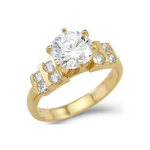 Engagement Rings Certified 1 00Cts Real Natural Solitaire Diamond Engagemen