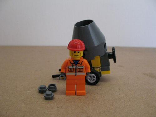 Instructions Lego Cement Mixer