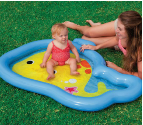 Other baby intex cute wale baby pool was sold for for Cute pool pictures