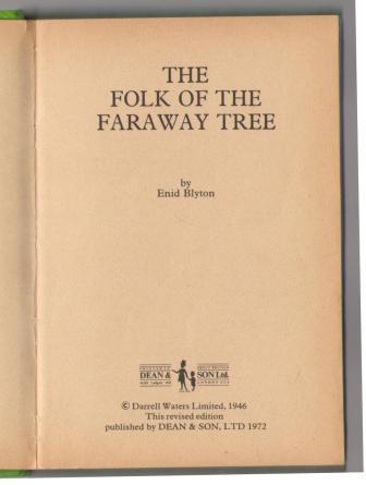 enid blyton the folk of the faraway tree pdf