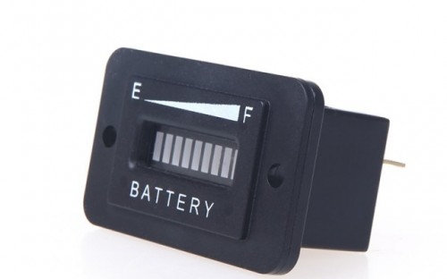 Battery Status Monitor : Other electronics battery status charge indicator