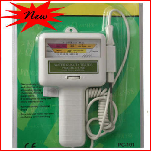 Maintenance Care Swimming Pool Spa Water Ph Cl2 Chlorine Tester Meter Ph Was Listed For R249
